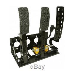 Universal Fit Montage Au Sol Bulkhead Course Pédale D'embrayage Hydraulique Boîte